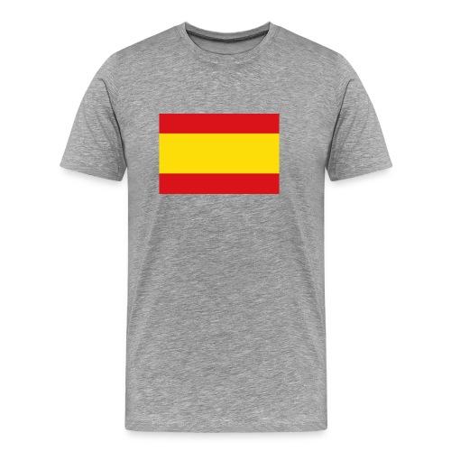 vlag van spanje - Mannen Premium T-shirt