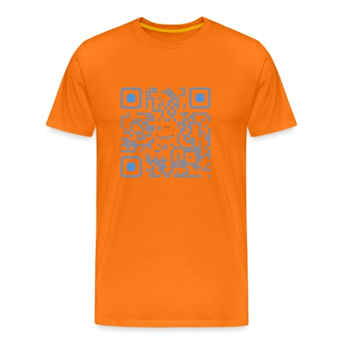 QR Maidsafe.net - Men's Premium T-Shirt