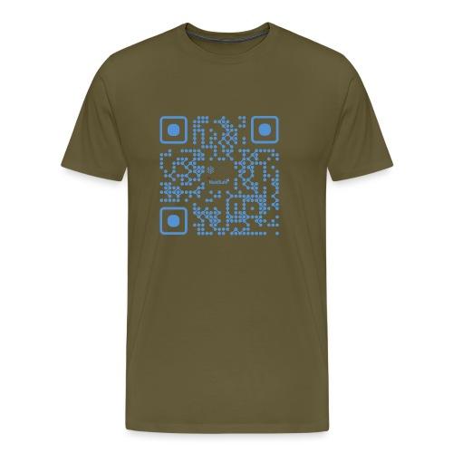 QR Maidsafe.net - Men's Premium T-Shirt