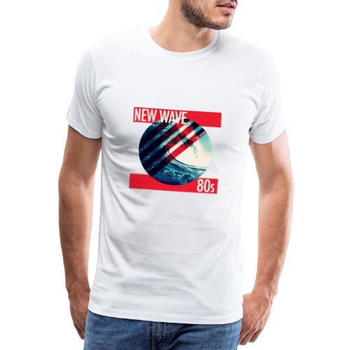 NEW WAVE 80s - Männer Premium T-Shirt