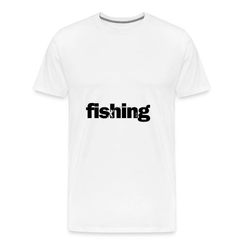 Word Fishing - Camiseta premium hombre