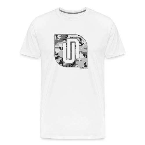 Unitwear – Camo UN Tshirt - Mannen Premium T-shirt