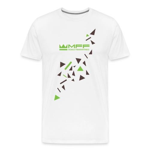 MFF Logo Splatter - Männer Premium T-Shirt