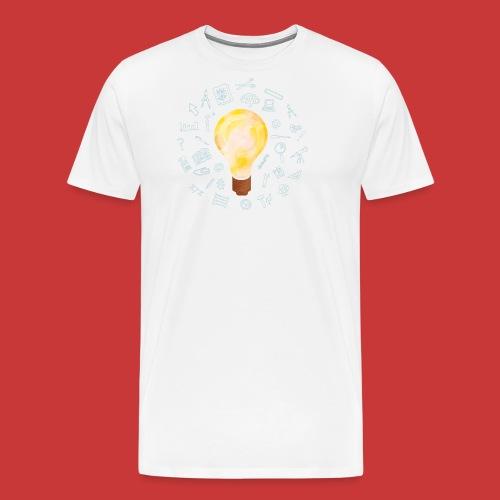 5 IDEEN Glühbirne 2018 - Männer Premium T-Shirt
