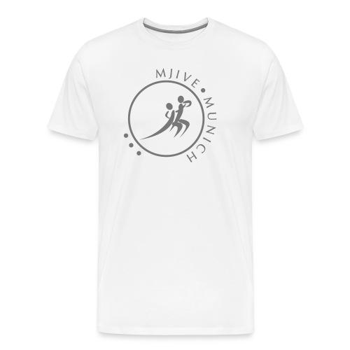 MJive dancers gray solid - Männer Premium T-Shirt