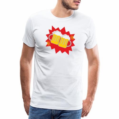 Biergläser - Männer Premium T-Shirt