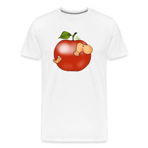 Apfelwurm im Royal Tenroy - Männer Premium T-Shirt