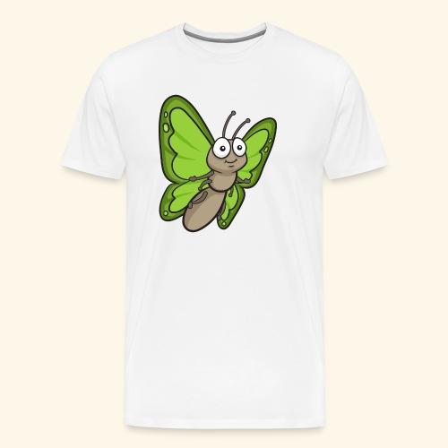Butterfly Cartoon - Men's Premium T-Shirt