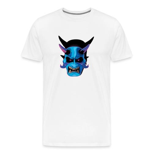 mask oni japones - Camiseta premium hombre