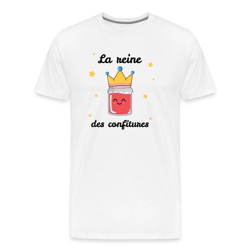 La reine des confitures - T-shirt Premium Homme