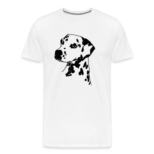 Dalmatiner 004 - Männer Premium T-Shirt