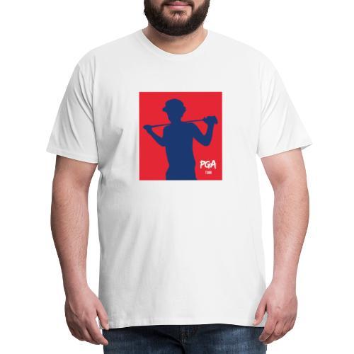 PGA newbie - Miesten premium t-paita