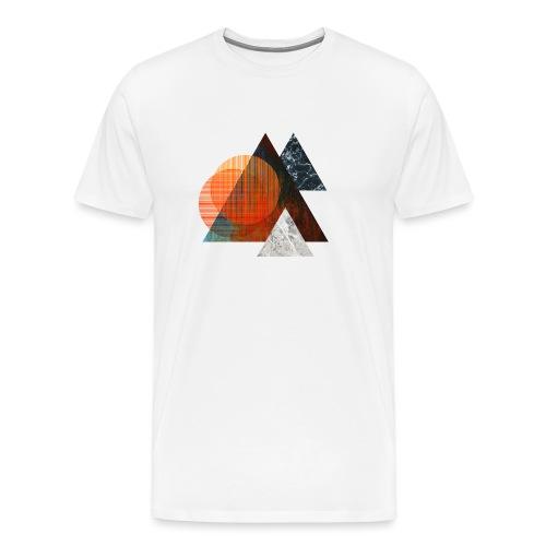 Tri Element - Alles im Dreieck - Männer Premium T-Shirt