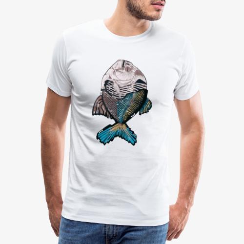 Streetart Fisch - Männer Premium T-Shirt