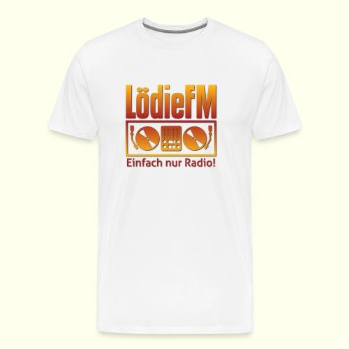LödieFM Logo big - Männer Premium T-Shirt