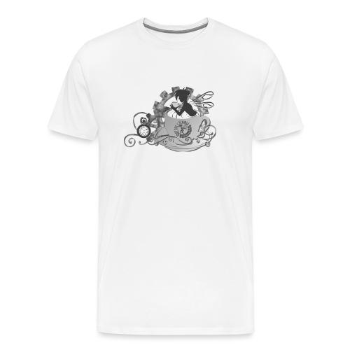 Coffee Cogs Fairy - Men's Premium T-Shirt