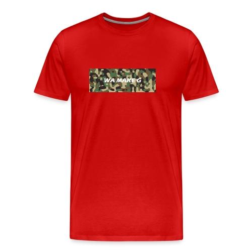WA MAKE G jpg - Mannen Premium T-shirt