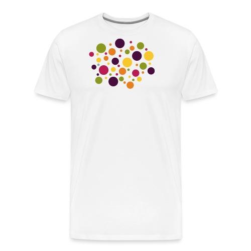 Dots are the new stripes - Männer Premium T-Shirt