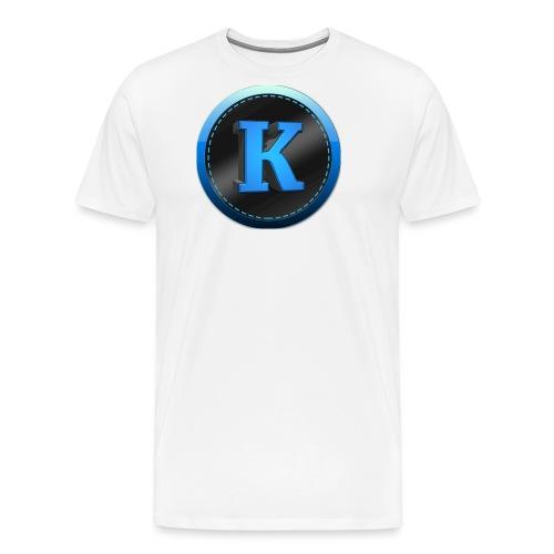 Logo png - Herre premium T-shirt