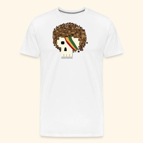 RASTA SKULL - T-shirt Premium Homme