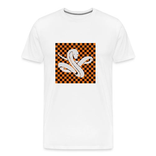Wavy snake - Mannen Premium T-shirt