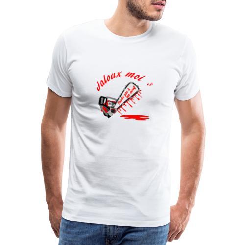 t shirt jaloux moi amour possessif humour - T-shirt Premium Homme