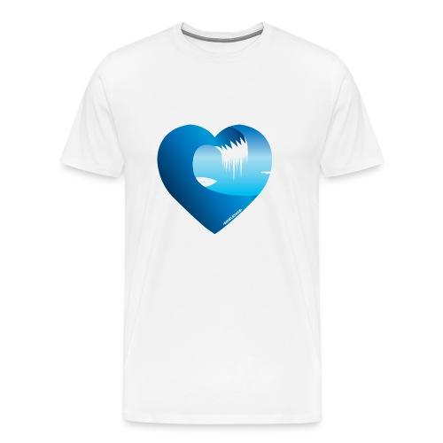Min Bølge Arctic Surfers - Premium T-skjorte for menn