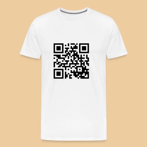 qrcode 1 png - Männer Premium T-Shirt
