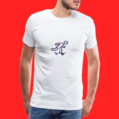 galaxy skate - T-shirt Premium Homme