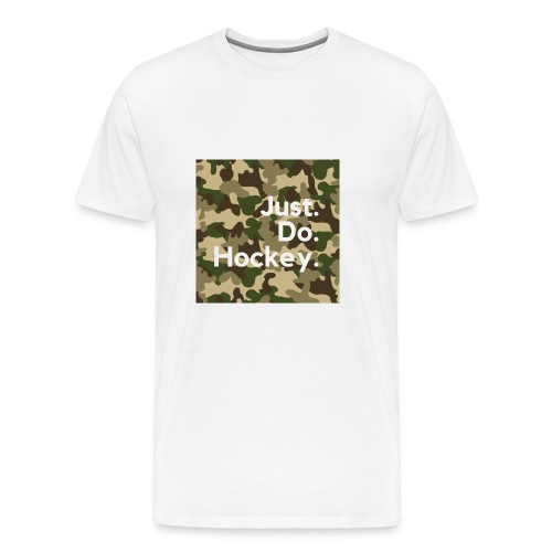 Just.Do.Hockey 2.0 - Mannen Premium T-shirt