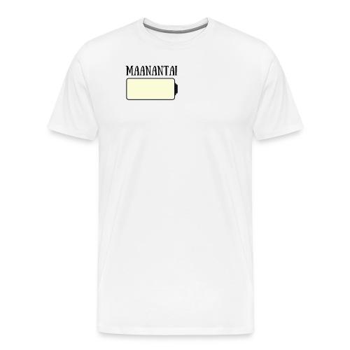 Maanantai - Miesten premium t-paita