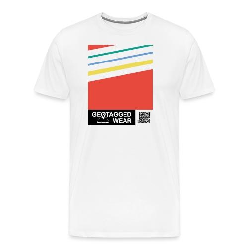 Unisex Stripes Pantone Colored - Männer Premium T-Shirt