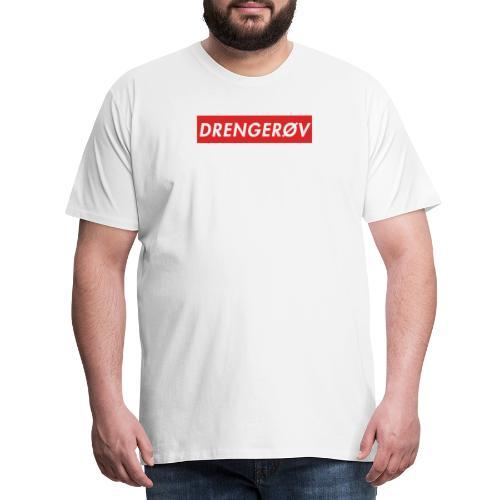 Drengerøv Box Logo Trøje - Herre premium T-shirt