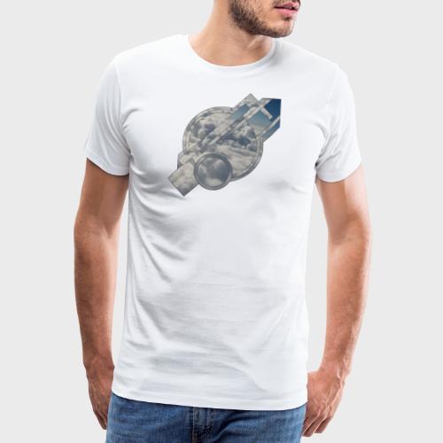 Abstract Cloud - Männer Premium T-Shirt