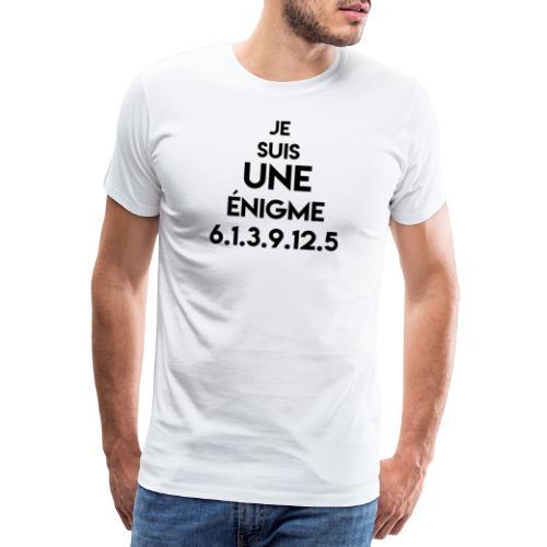 je suis une enigme facile - T-shirt Premium Homme