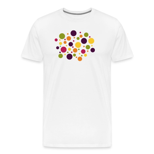 Dots are the new stripes - Männer Premium T-Shirt