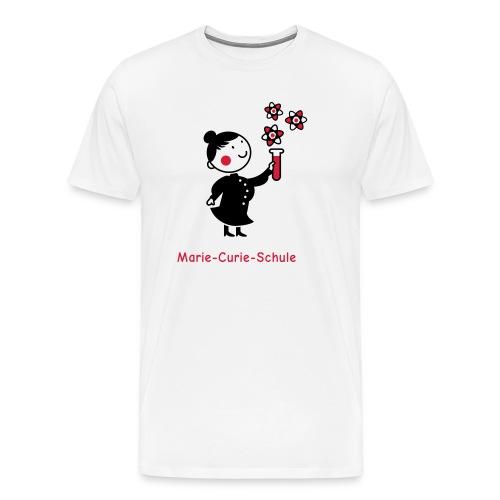 marie curie neu - Männer Premium T-Shirt