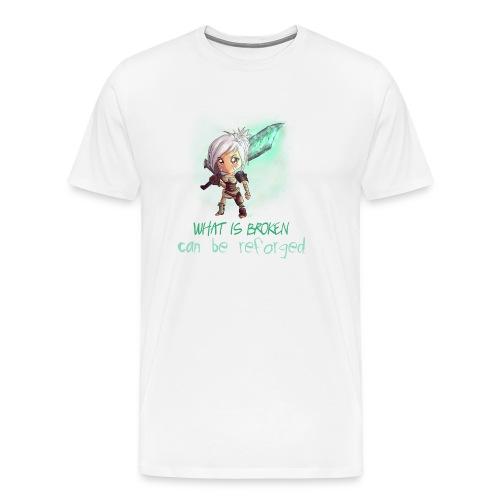 Chibi Riven con scritta DONNA - Maglietta Premium da uomo