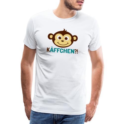 Monkey Käffchen 3 - Männer Premium T-Shirt