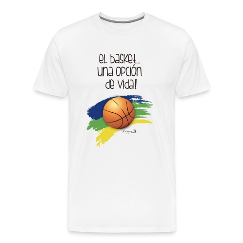 basket - Camiseta premium hombre