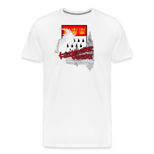 Kirchzeller Veedel png - Männer Premium T-Shirt