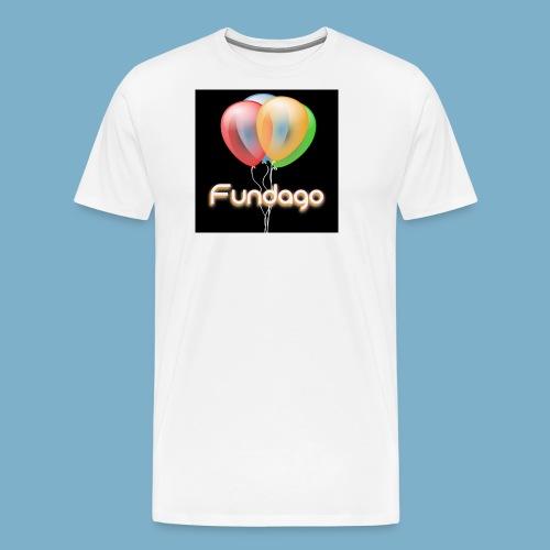 Fundago Ballon - Männer Premium T-Shirt