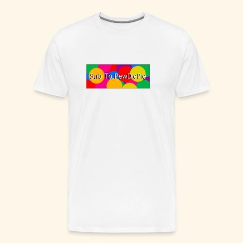 Sub To Pewdiepieeeee - T-shirt Premium Homme