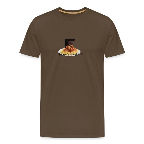 Fagetty Spaghetti (impact) - Men's Premium T-Shirt