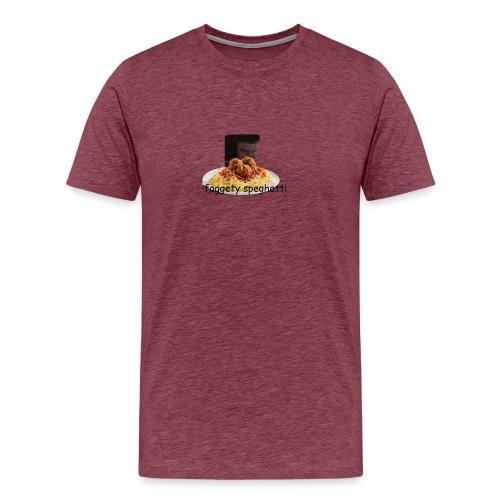 Fagetty Spaghetti (impact) - Men's Premium T-Shirt