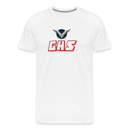 GHS Märke+text - Premium-T-shirt herr
