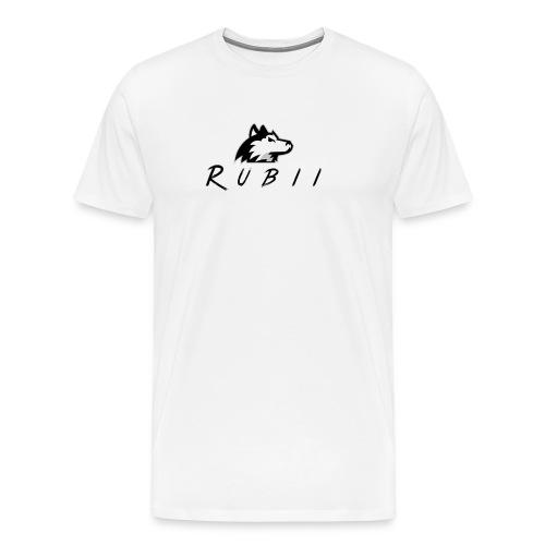 RubiiWolf - Herre premium T-shirt