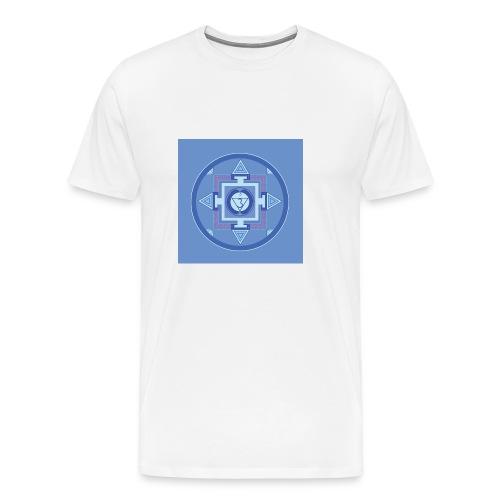Ajna - Third Eye Chakra - Miesten premium t-paita