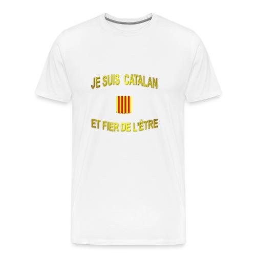 Tee-Shirt supporter du pays CATALAN - T-shirt Premium Homme