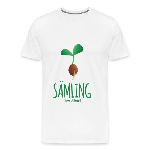 Sämling - Männer Premium T-Shirt
